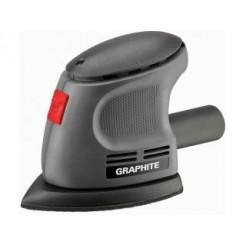 Graphite Mouse Schuurmachine 105w Hook En Loop Systeem