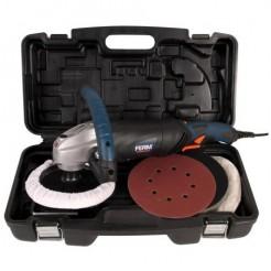 FERM AGM1037 - Haakse poetsmachine 1400W